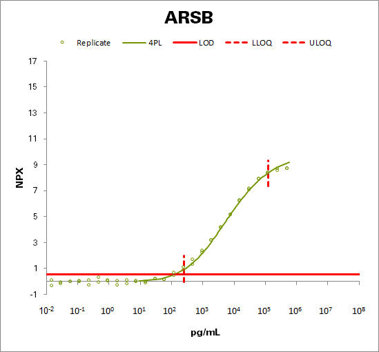 Arylsulfatase B  (ARSB)