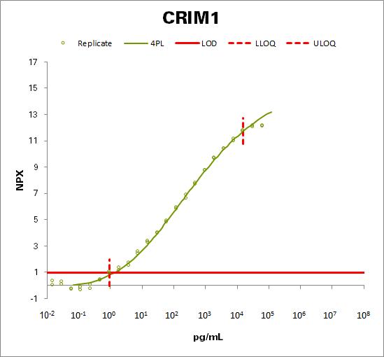 Cysteine-rich motor neuron 1 protein (CRIM1)