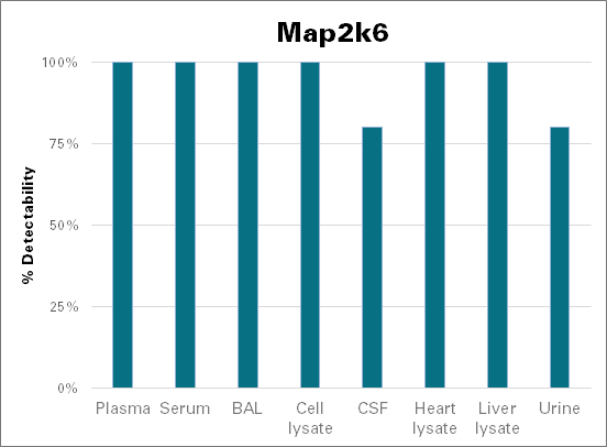 Dual specificity mitogen-activated protein kinase kinase 6 - mouse (Map2k6)